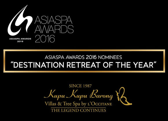 nominee of Destination Retreat of the Year